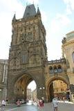 De Toren van het poeder Stock Foto's