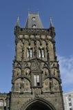 De toren van het Poeder in Praag royalty-vrije stock foto