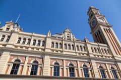 De Toren van het Station van Luz Royalty-vrije Stock Foto's