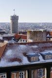 De toren van het Toompeakasteel Royalty-vrije Stock Foto's