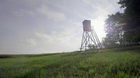 De Toren van het vogelhorloge stock footage