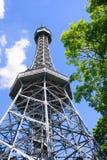 De Toren van het Vooruitzicht van Petrin stock foto's