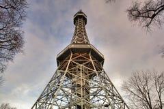 De Toren van het Vooruitzicht van Praag stock afbeeldingen
