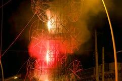 De Toren van het Vuurwerk van Gr Castillo in Chapala Mexico royalty-vrije stock fotografie