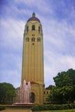 De Toren van Hoover van de Universiteit van Stanford stock afbeeldingen
