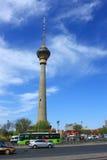 De toren van kabeltelevisie Royalty-vrije Stock Foto