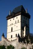 De toren van Karlstejn Royalty-vrije Stock Foto's