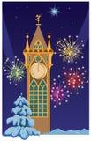 De toren van Kerstmis Stock Afbeelding