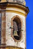 De toren van de klokkerk van de 18de eeuw stock foto