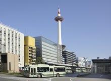 De toren van Kyoto Stock Foto's