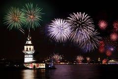 De Toren van Leanders, Istanboel Royalty-vrije Stock Afbeelding