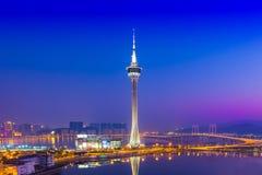 De Toren van Macao Stock Foto's