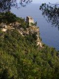 De toren van Maiori op de amal kust Royalty-vrije Stock Afbeelding