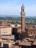 De toren van Mangia Royalty-vrije Stock Afbeelding