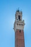 De toren van Mangia Royalty-vrije Stock Afbeeldingen