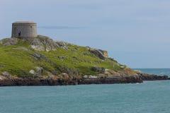 De Toren van Martello. Het eiland van Dalkey. Ierland Royalty-vrije Stock Afbeeldingen