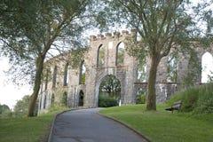 De Toren van McCaig, Victoriaanse Dwaasheid, Oban stock foto's