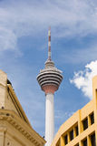 De toren van Menara, Kuala Lumpur, Maleisië stock foto's
