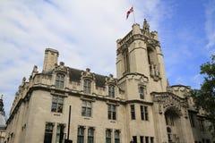De toren van Middlesex Guildhall Royalty-vrije Stock Foto's