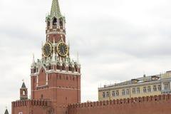 De toren van Moskou het Kremlin Royalty-vrije Stock Foto's