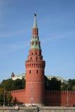 De toren van Moskou het Kremlin. Rusland Royalty-vrije Stock Afbeelding