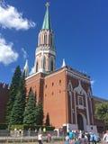 De toren van Nikolskaya van Moskou het Kremlin Rood vierkant royalty-vrije stock afbeeldingen
