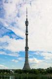 De toren van Ostankino royalty-vrije stock fotografie
