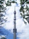 De Toren van Ostankino Royalty-vrije Stock Afbeeldingen