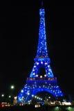 De toren van Parijs Eiffel Stock Foto's