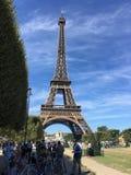 De Toren van Parijs - van Eiffel Stock Foto