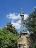 De toren van Petrin Royalty-vrije Stock Foto's