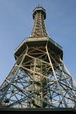 De Toren van Petrin Stock Afbeeldingen