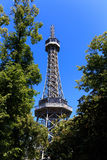 De toren van Petrin Stock Fotografie