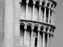 De toren van Pisa Stock Foto's