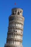 De toren van Pisa, Italië stock afbeelding
