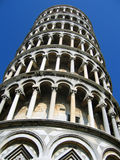 De toren van Pisa - sluit omhoog (1) Royalty-vrije Stock Foto's