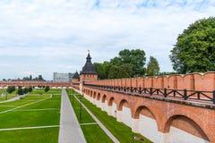 De Toren van de Poorten van Ivanovo en de Toren van Ivanovo, de torens van Tula Kremlin Tula, Rusland royalty-vrije stock afbeeldingen