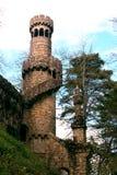 De Toren van Regaleira Stock Afbeeldingen