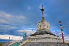 De Toren van Sanshenglaze stock foto