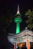 De Toren van Seoel Stock Afbeeldingen
