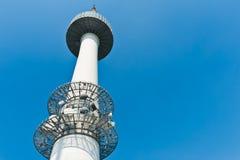 De Toren van Seoel met hemel, Zuid-Korea Royalty-vrije Stock Afbeelding
