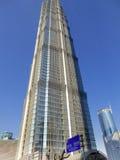 De Toren van Shanghai Jinmao Royalty-vrije Stock Foto's