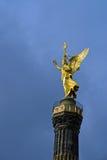 De toren van Siegessaule of van de overwinning in Berlijn Stock Fotografie