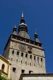De toren van Sighisoara Stock Afbeeldingen