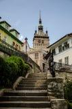De toren van Sighisoara Stock Afbeelding