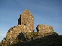 De Toren van Smailholm Stock Foto