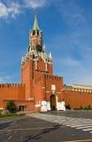 De Toren van Spasskaya van Moskou het Kremlin Royalty-vrije Stock Fotografie