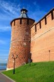 De toren van Tainitzkaya van Nizhny Novgorod het Kremlin Royalty-vrije Stock Fotografie