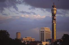 De Toren van Telecomm Royalty-vrije Stock Foto's