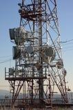 De toren van telecommunicatie Royalty-vrije Stock Foto
